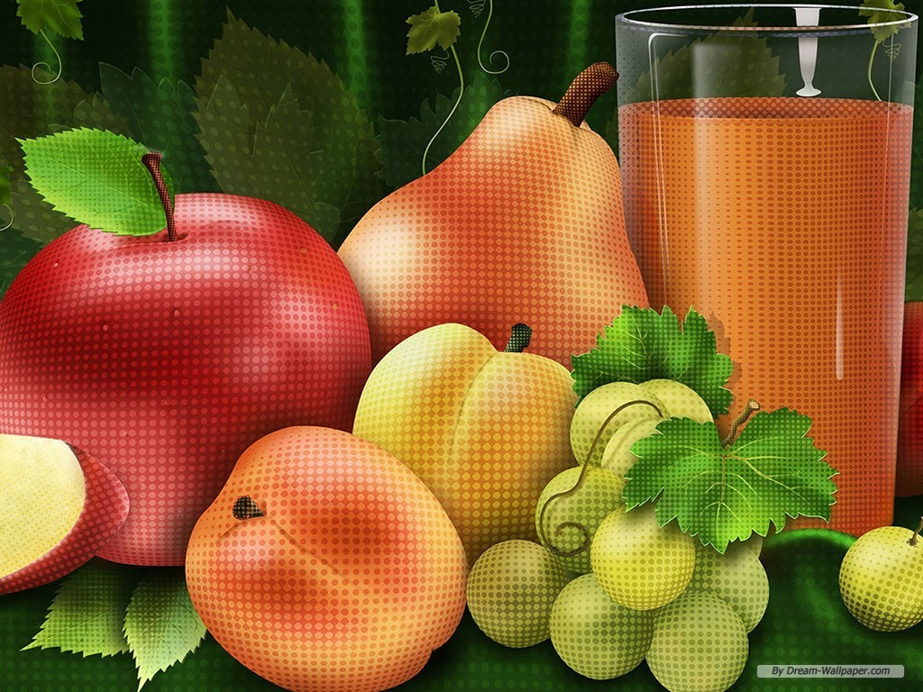 Mixed Fruit Wallpaper   Fruit Wallpaper 7004512 1024x768