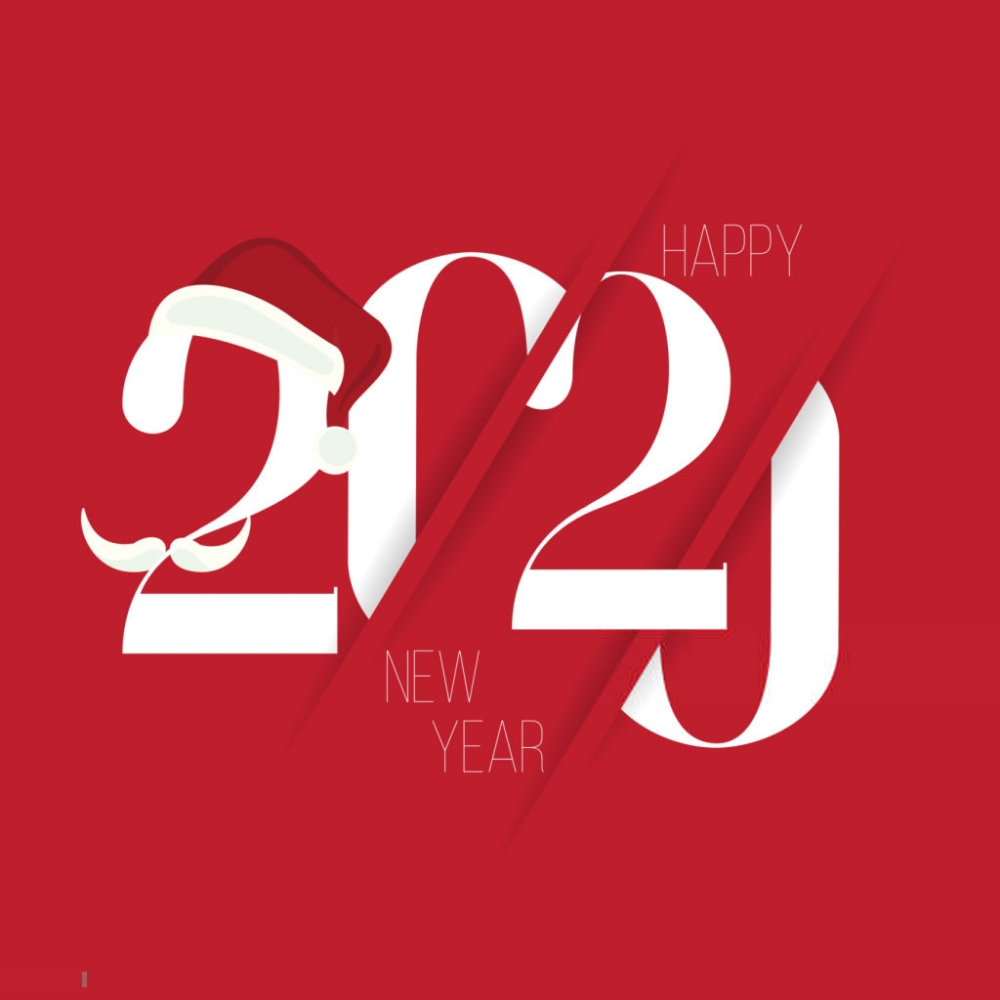 List of beautiful and stunning happy new year 2020 images 1000x1000