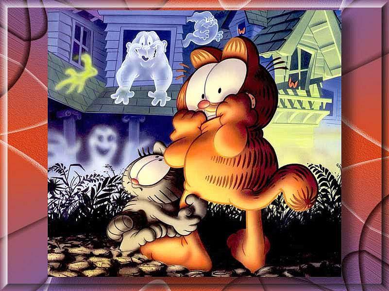 50 Garfield Halloween Wallpaper On Wallpapersafari