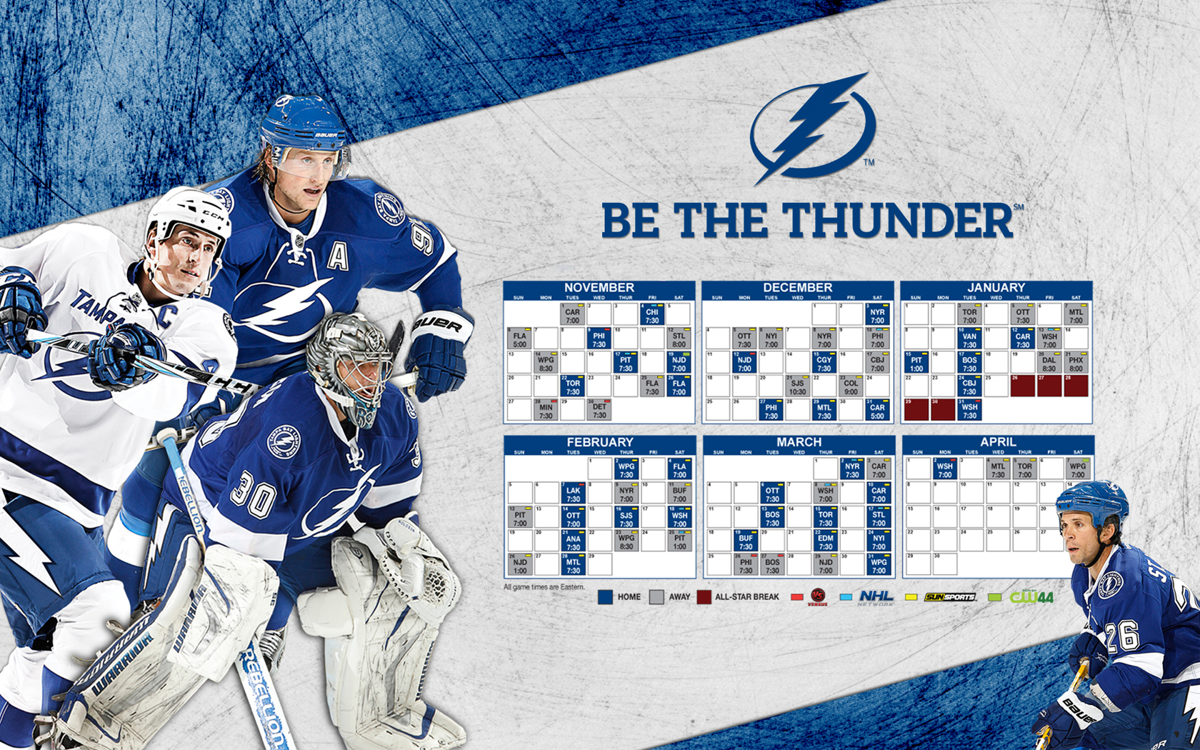 Tampa Bay Lightning images TBL 2011 12 Schedule HD wallpaper and 1680x1050