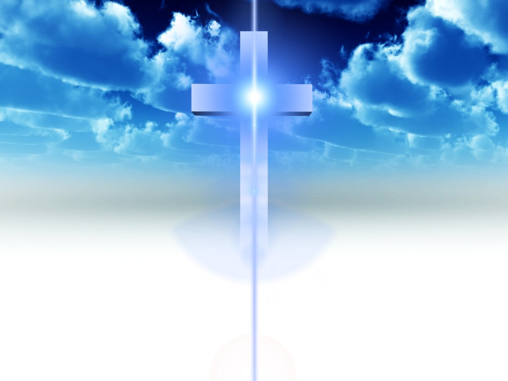 Light and Cross Wallpaper   Christian Wallpapers and Backgrounds 1024x768