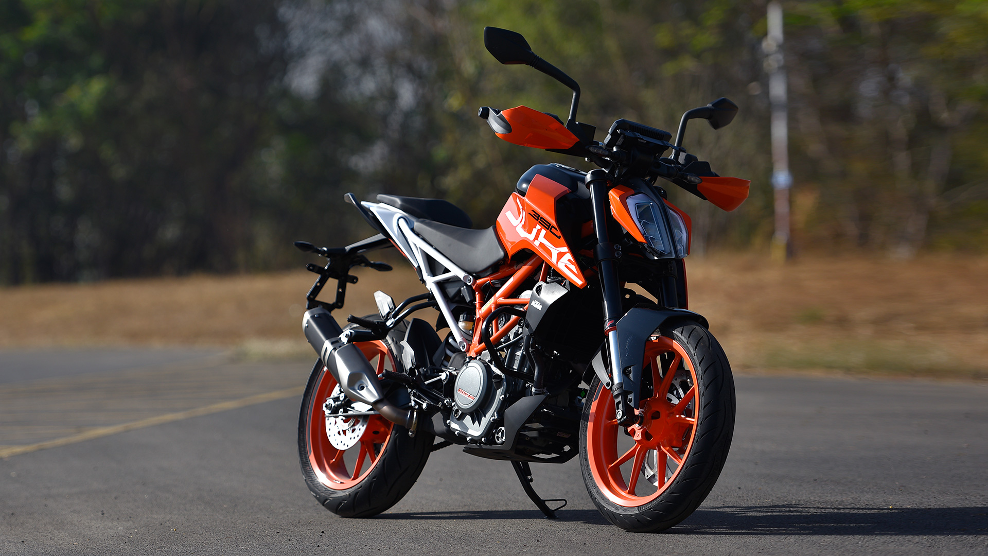 KTM 390 Duke 2017   Price Mileage Reviews Specification 1920x1080