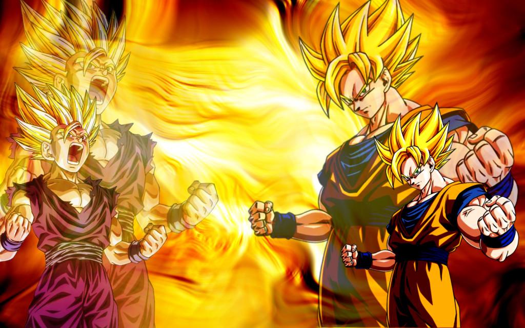 Goku Gohan Dragon Ball Z Super Saiyan Wallpaper HD ForWallpaperscom 1024x640