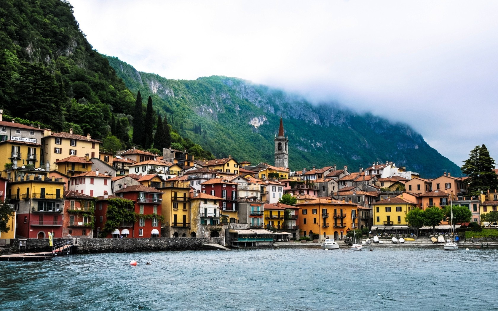Lake Como High Definition Wallpaper   Travel HD Wallpapers 1680x1050