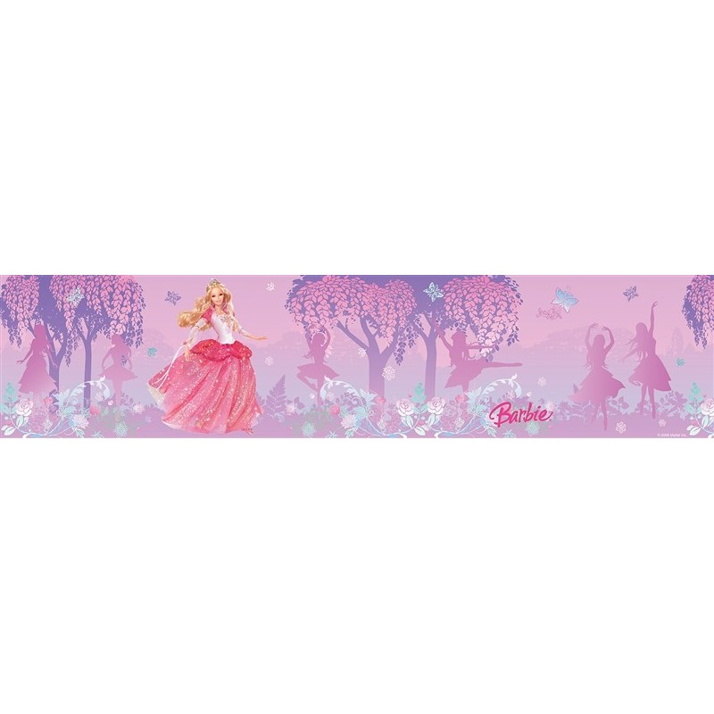 Wallpaper Border Closeout Barbie Dancing Princess Peel and Stick 800x800