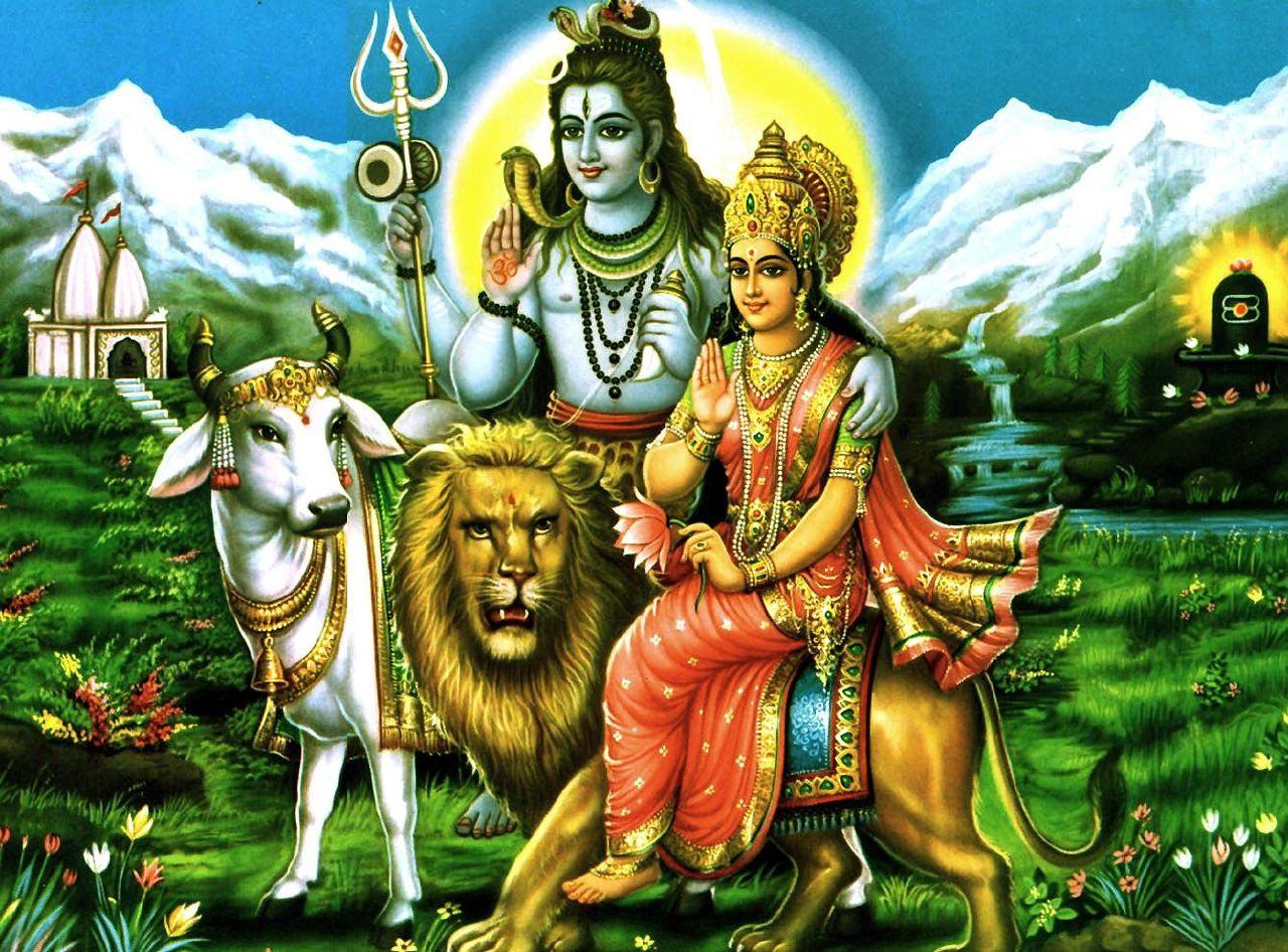 Lord Shiva Parvati HINDU GOD WALLPAPERS FREE DOWNLOAD 1280x946