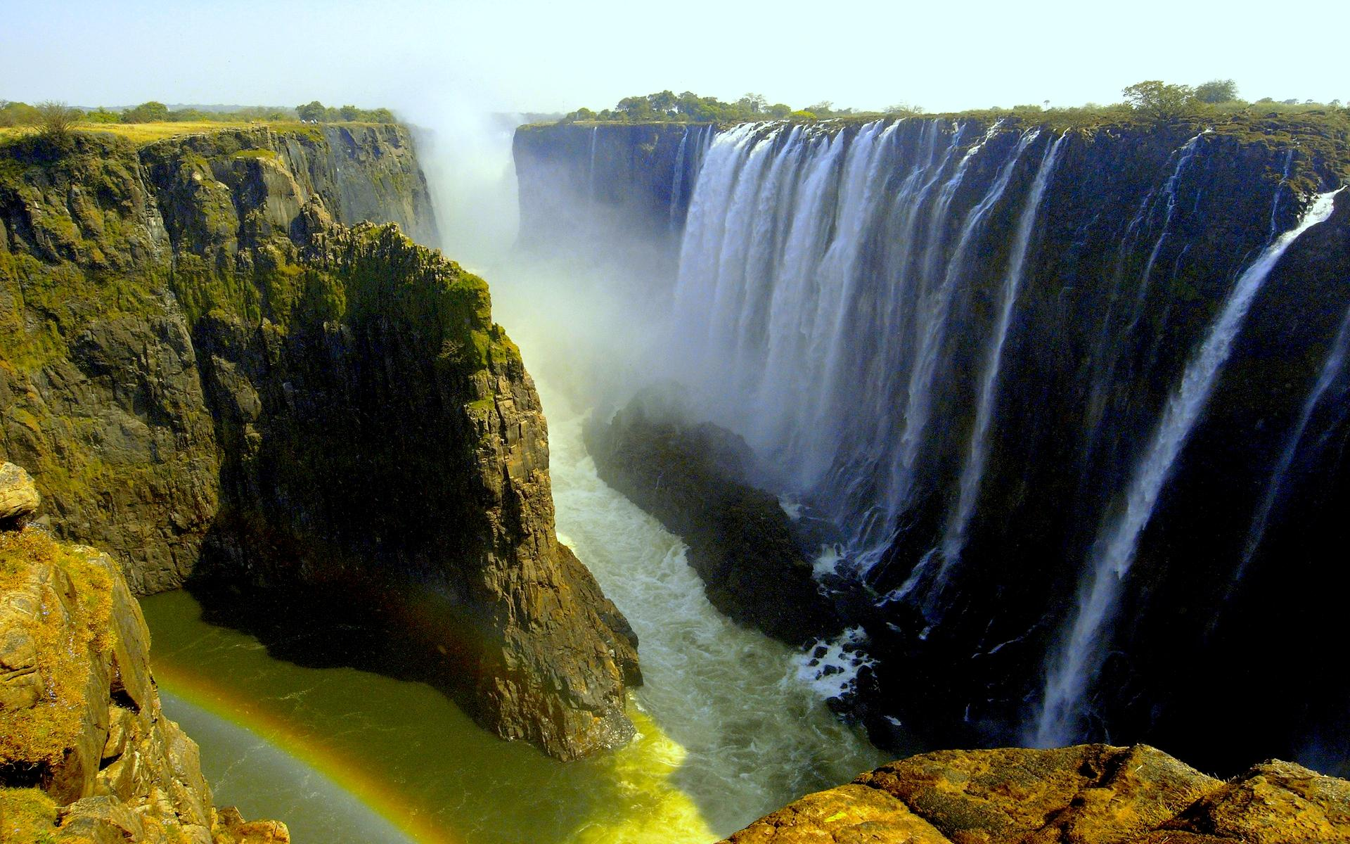 Victoria Falls wallpaper   VISIT ALL OVER THE WORLD 1920x1200