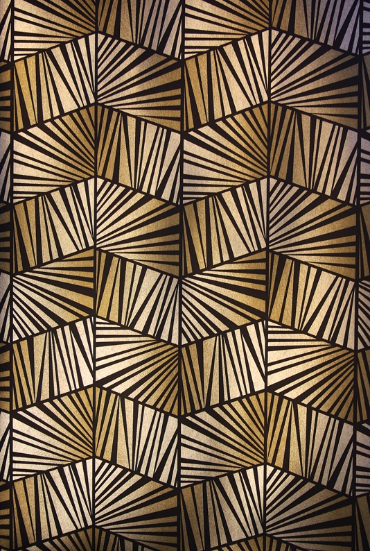 Black And Gold Art Deco Wallpaper The