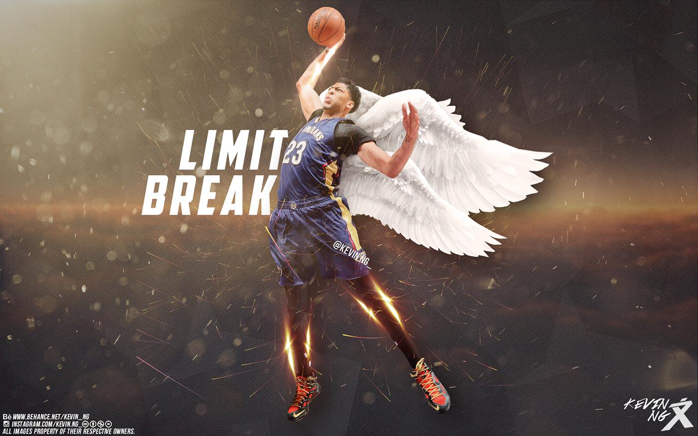 Download Anthony Davis Limit Break Wallpaper on Behance [1400x875 1400x875