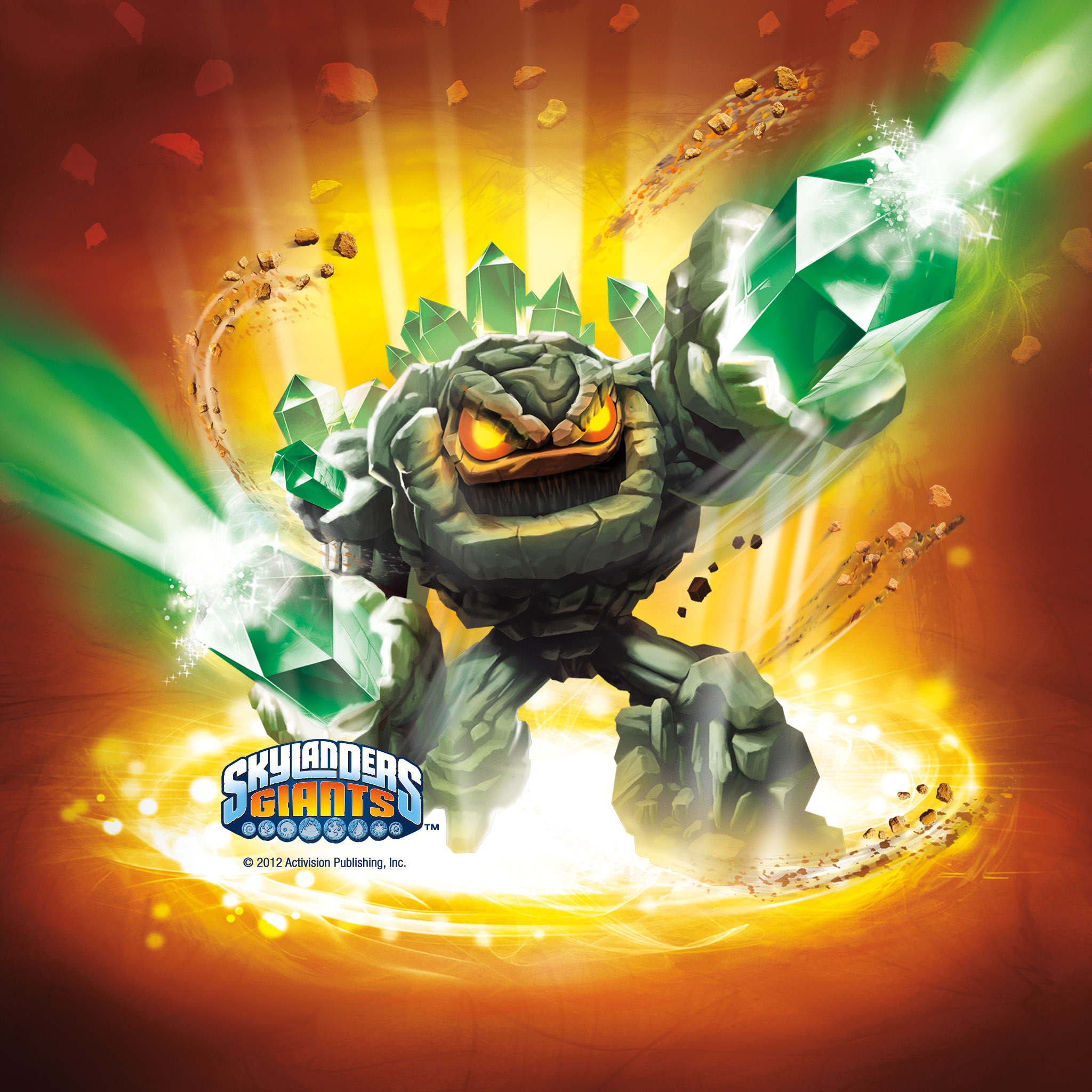 Skylanders Giants Wallpapers Prism Break Earth Elemental 2048x2048