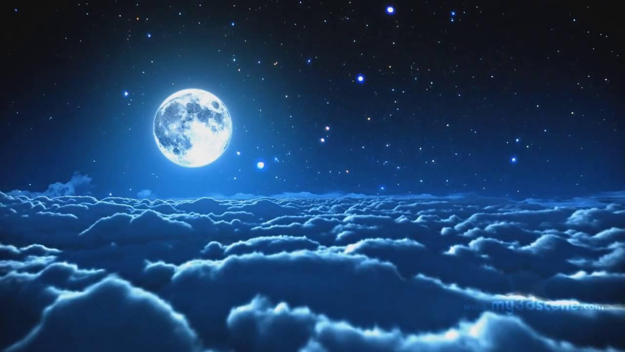 Animated Moon Wallpaper 1280x720