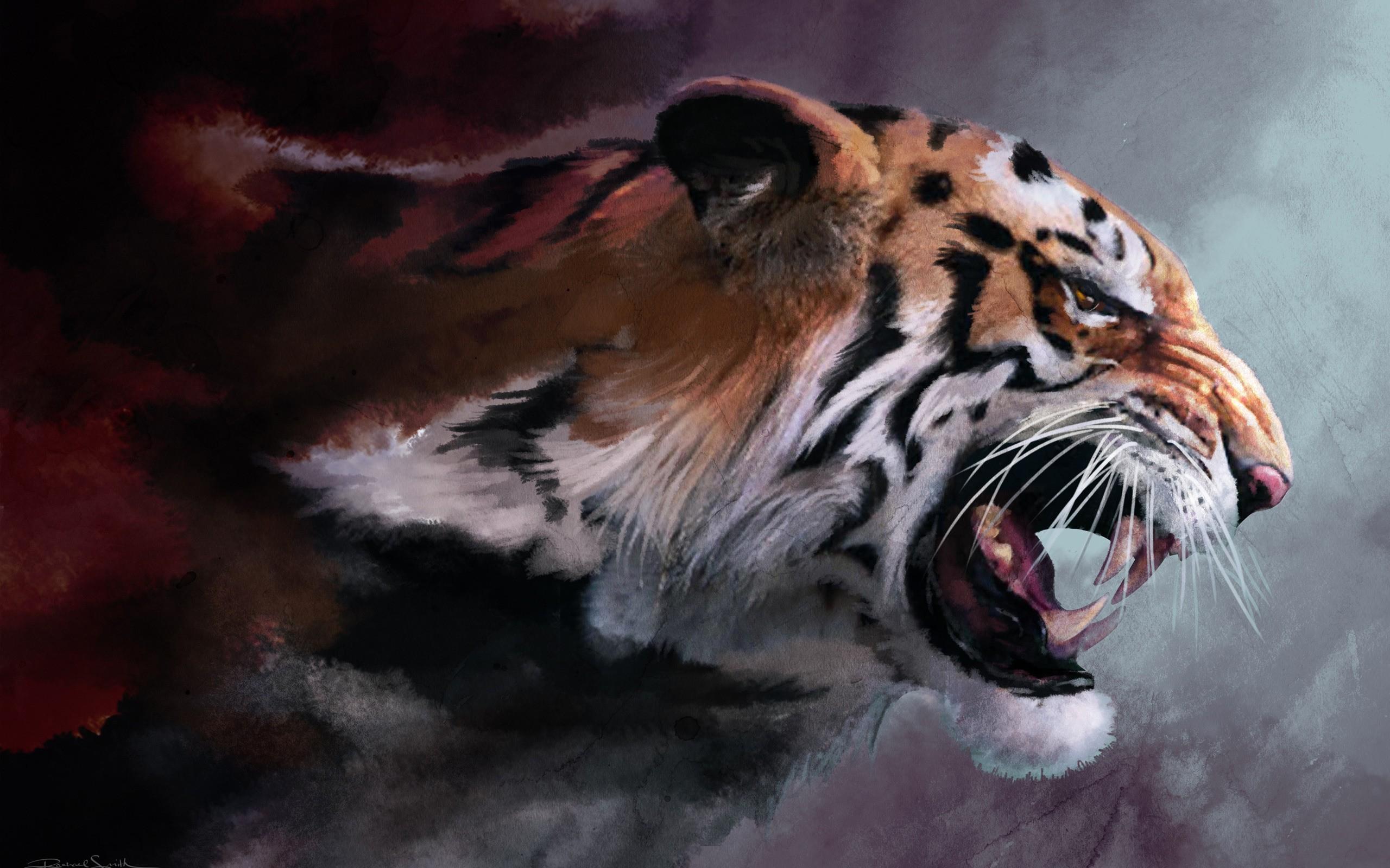 2560x1600 Tiger desktop PC and Mac wallpaper 2560x1600