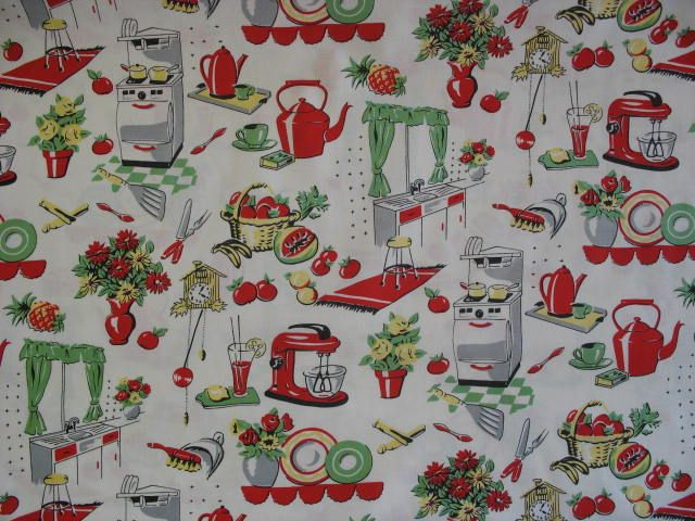 Free Download Retro 50s Kitchen Wallpaper Everything Retro