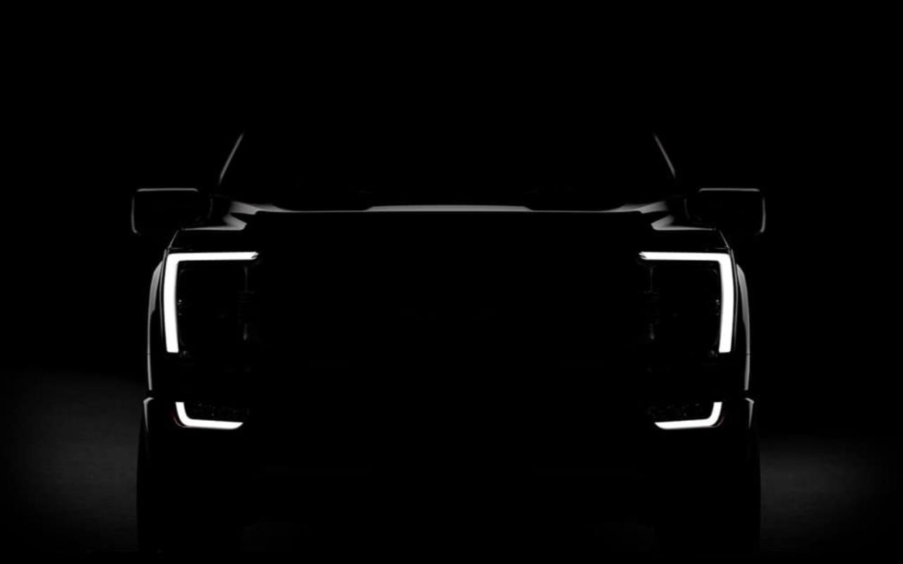 2021 Ford F 150 new lights tech an unusual seat teased   SlashGear 1280x800