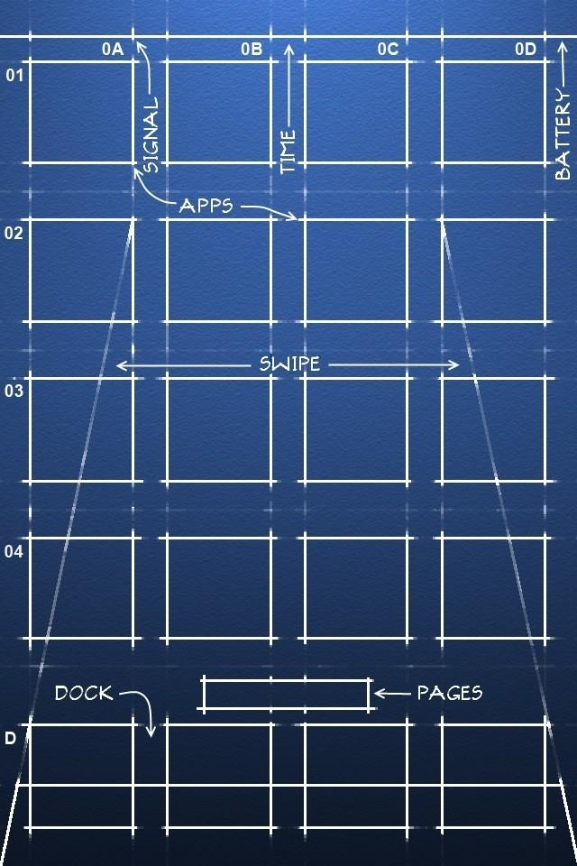 Cool Link iPhone 4 Blueprint Wallpaper Life In LoFi iPhoneography 640x960