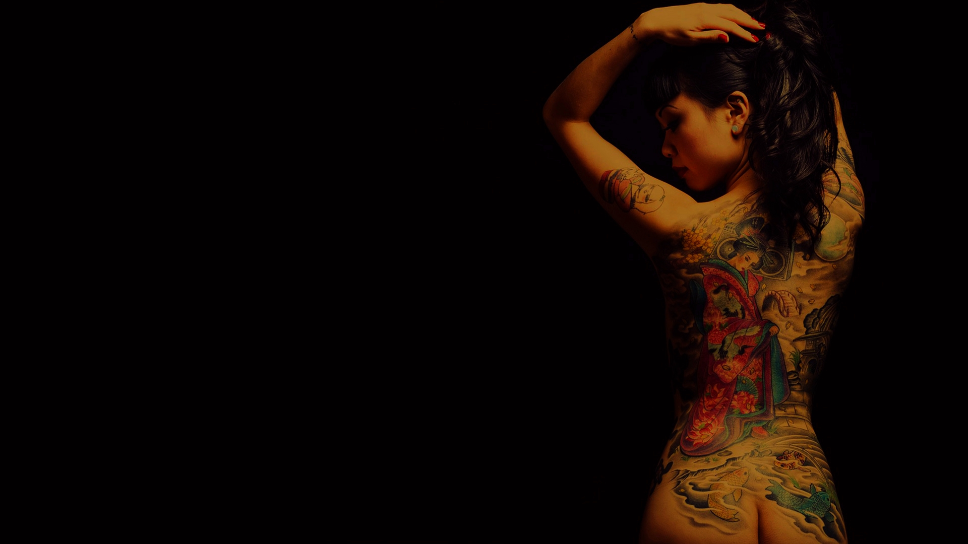 Tattooed Girl 19201080 wallpaper 94 1920x1080