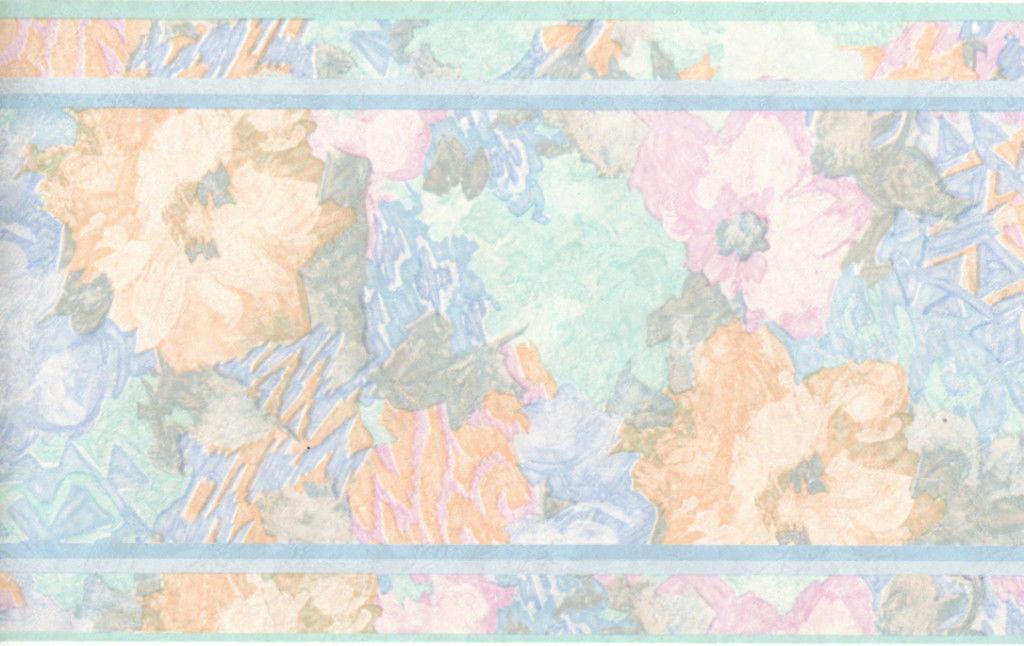 31   watercolor floral wallpaper border on wallpapersafari