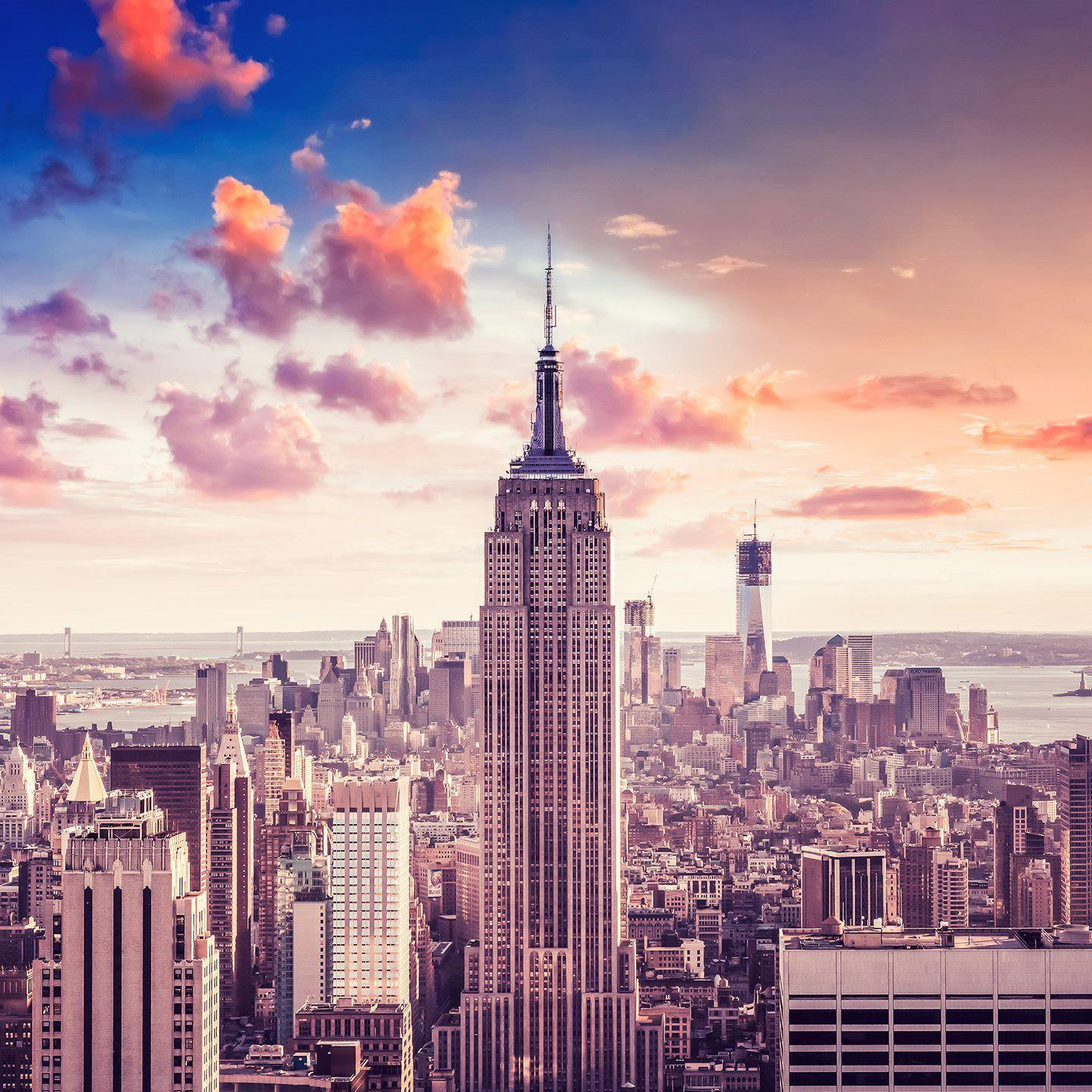 Empire State Building Wallpapers 1440x1440