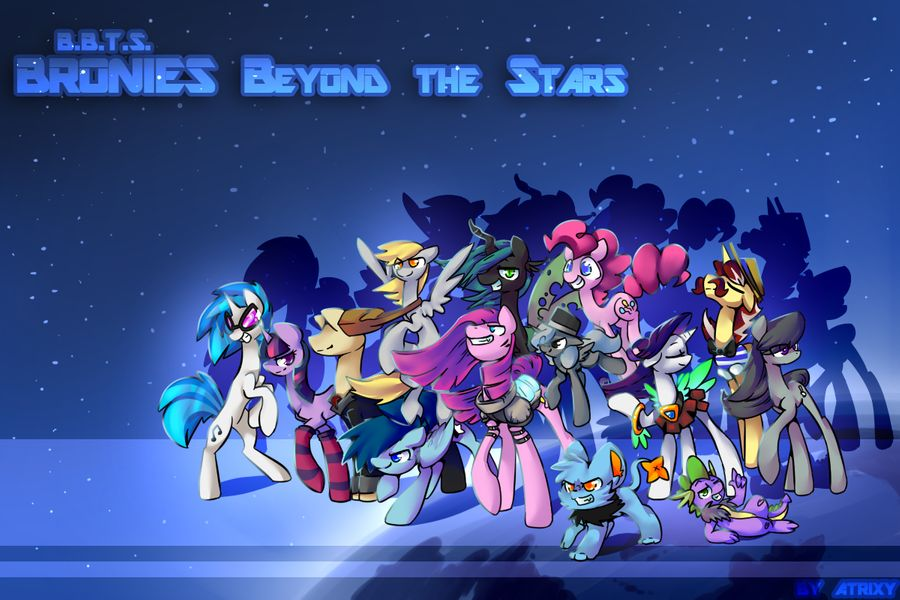 Bronies Beyond the Stars   The wallpaper by Atrixy 900x600