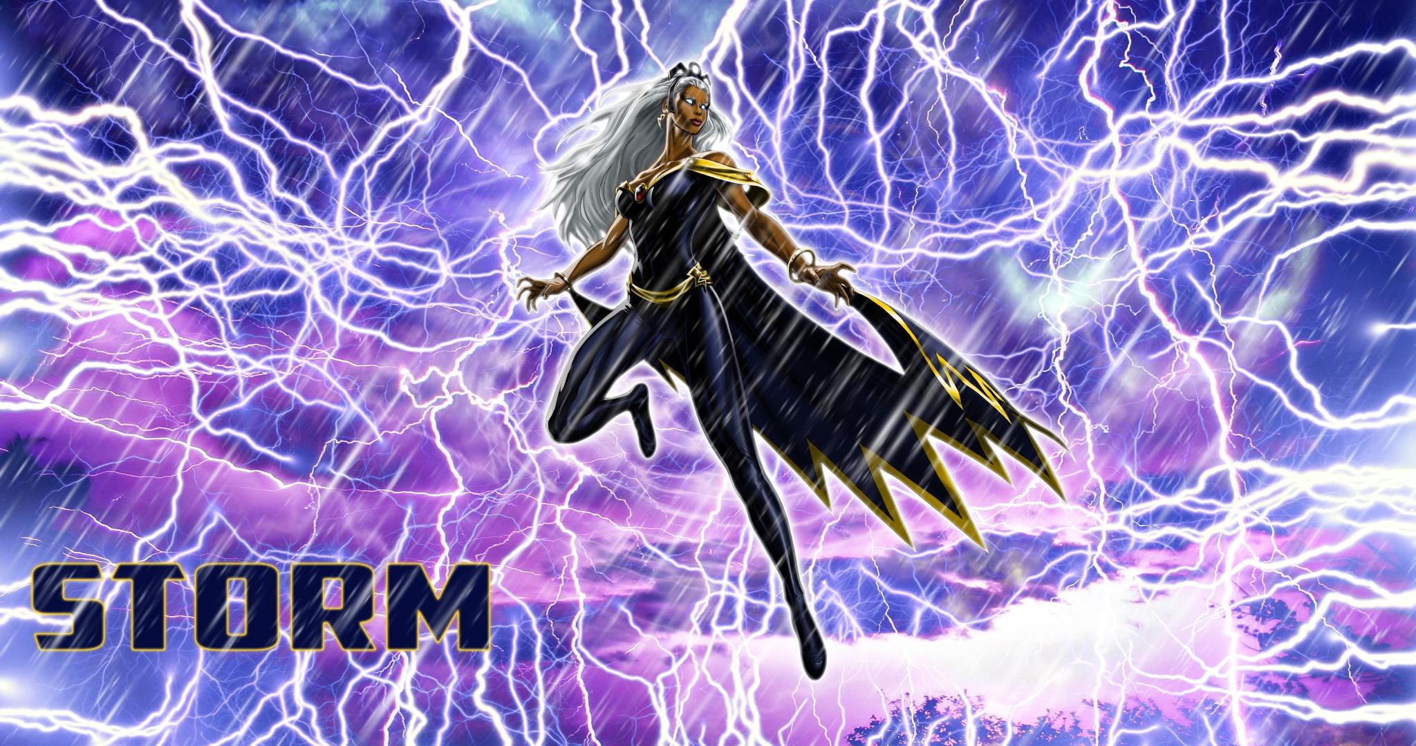 storm ororo munroe marvel comics x men hd wallpaper 2048x1080
