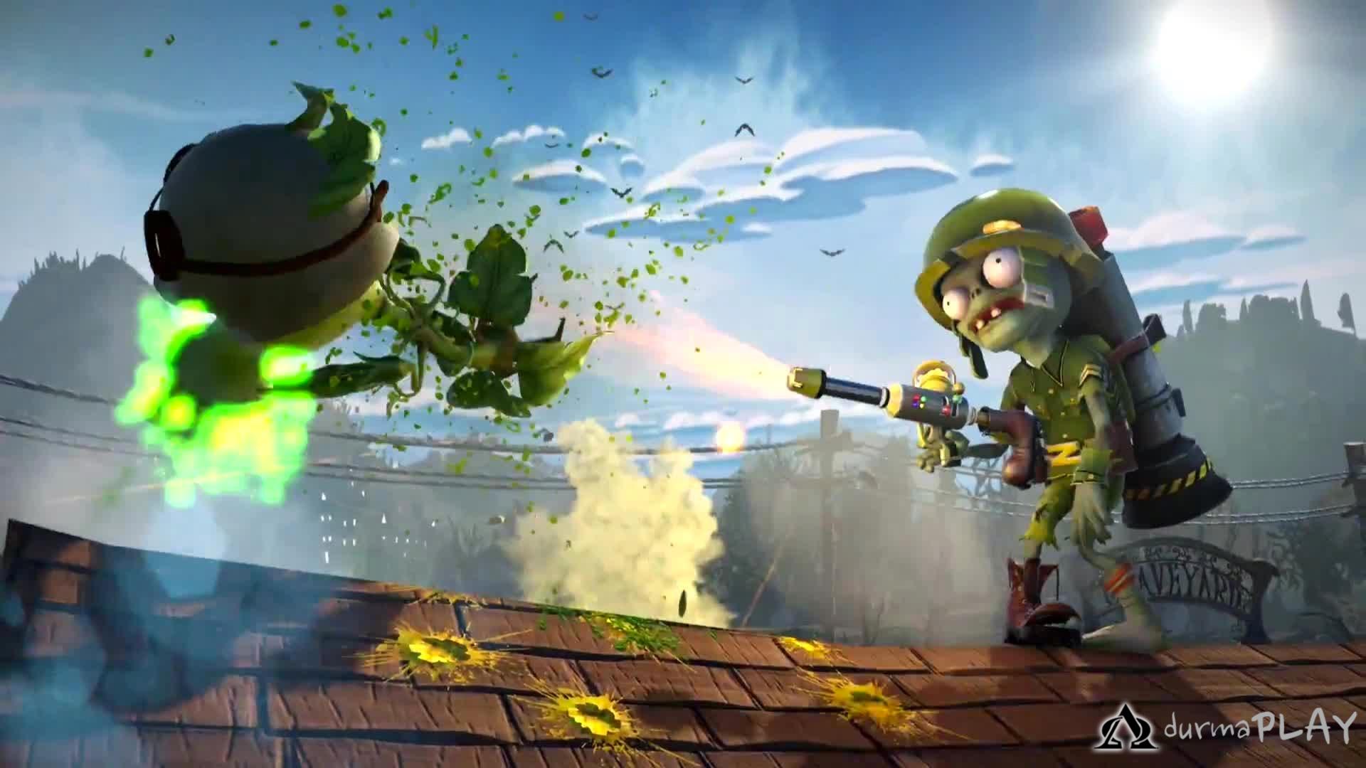 Pvz gw wallpapers wallpapersafari for Plants vs zombie garden warfare