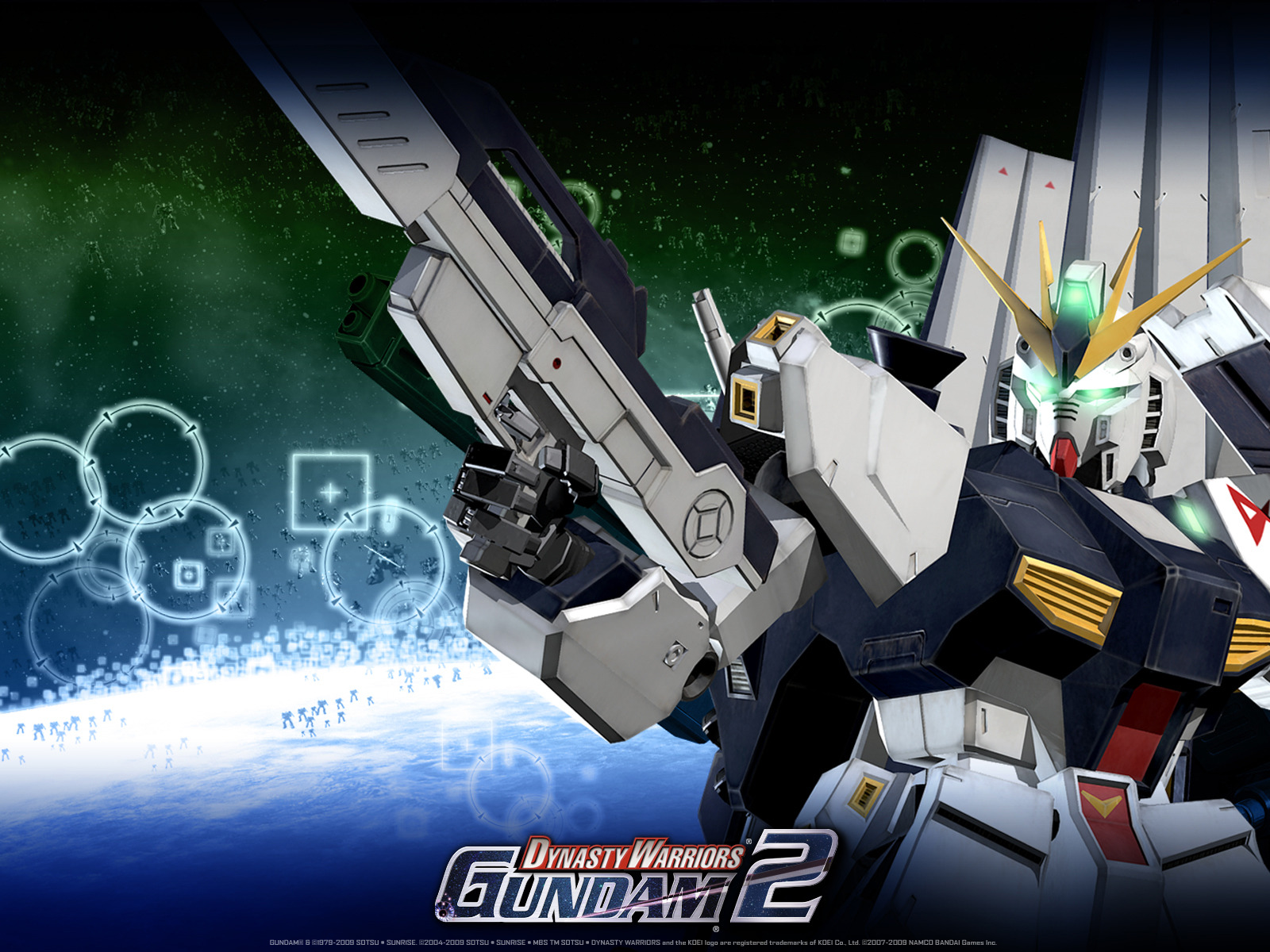 Nu Gundam  Dynasty Warriors Gundam 2 Wallpaper Gallery   Best 1600x1200