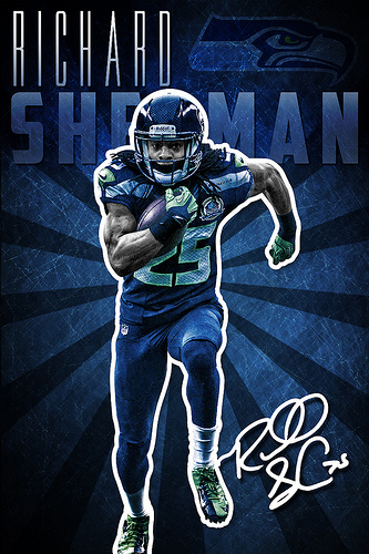 Richard Sherman Seahawks Wallpaper Richard sherman seattle 333x500