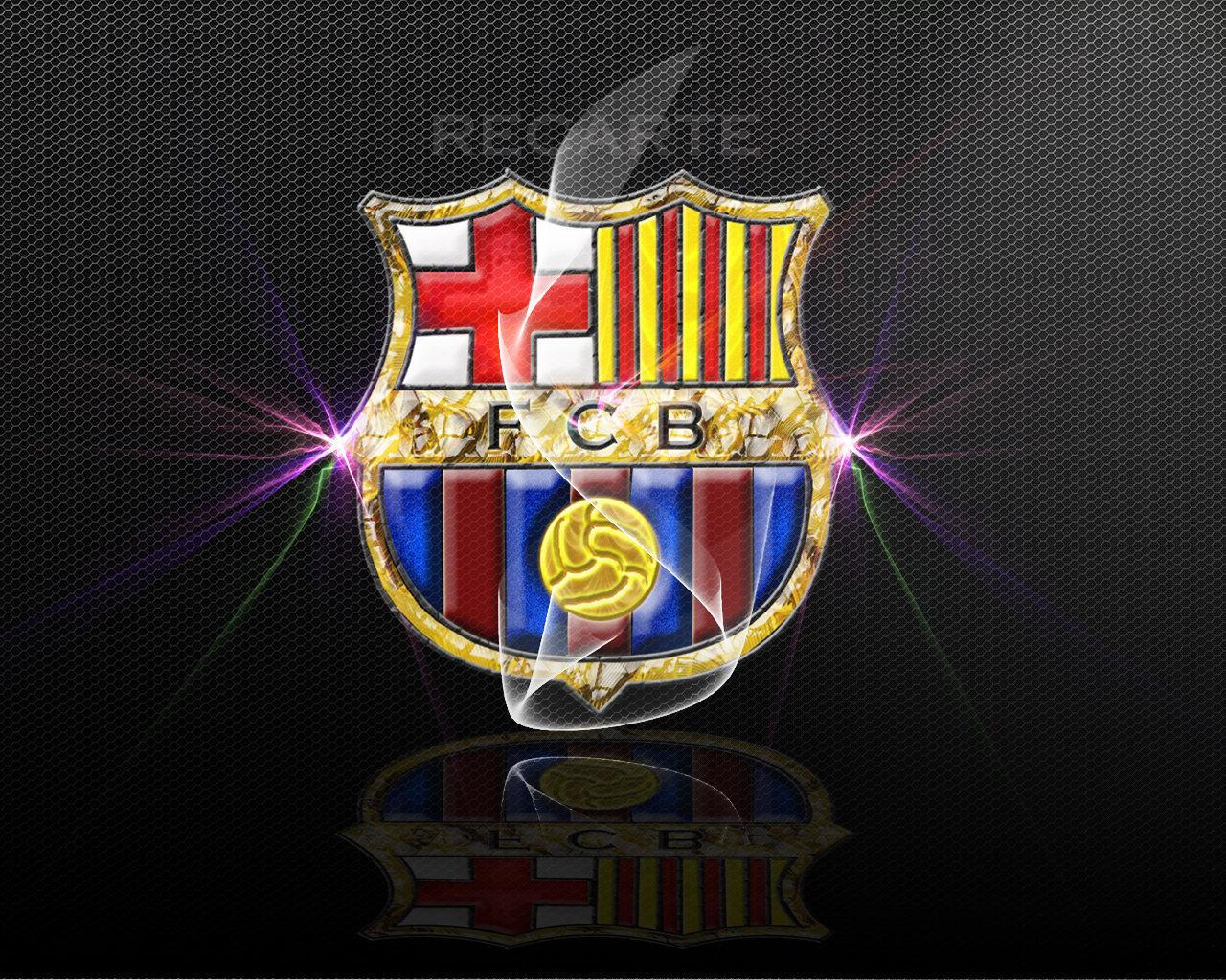 FC Barcelona Logo Wallpaper   FC Barcelona Wallpaper 22614249 1280x1024