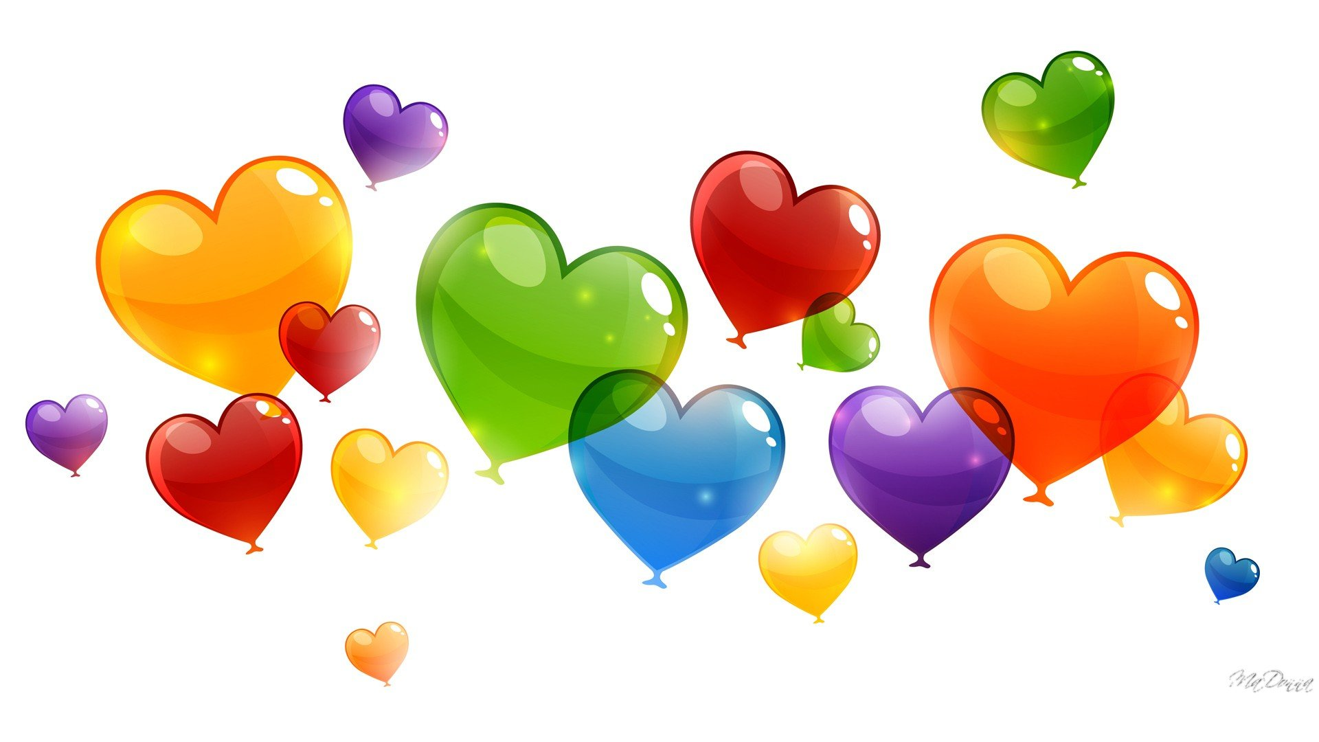 colorful hot air balloon wallpaper happy balloons hd wallpaper 510780 1920x1080