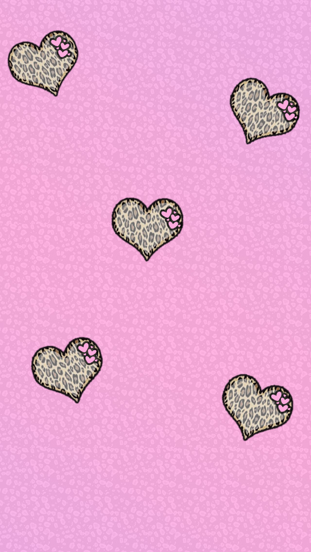 ADORABLE BROWN AND PINK LEOPARD INSTAGRAM JailbreakThemescom  Cute 640x1136