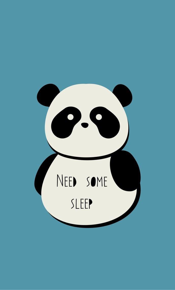 Panda by Berta Mallenco Iphone 5 wallpapers Pinterest 689x1138