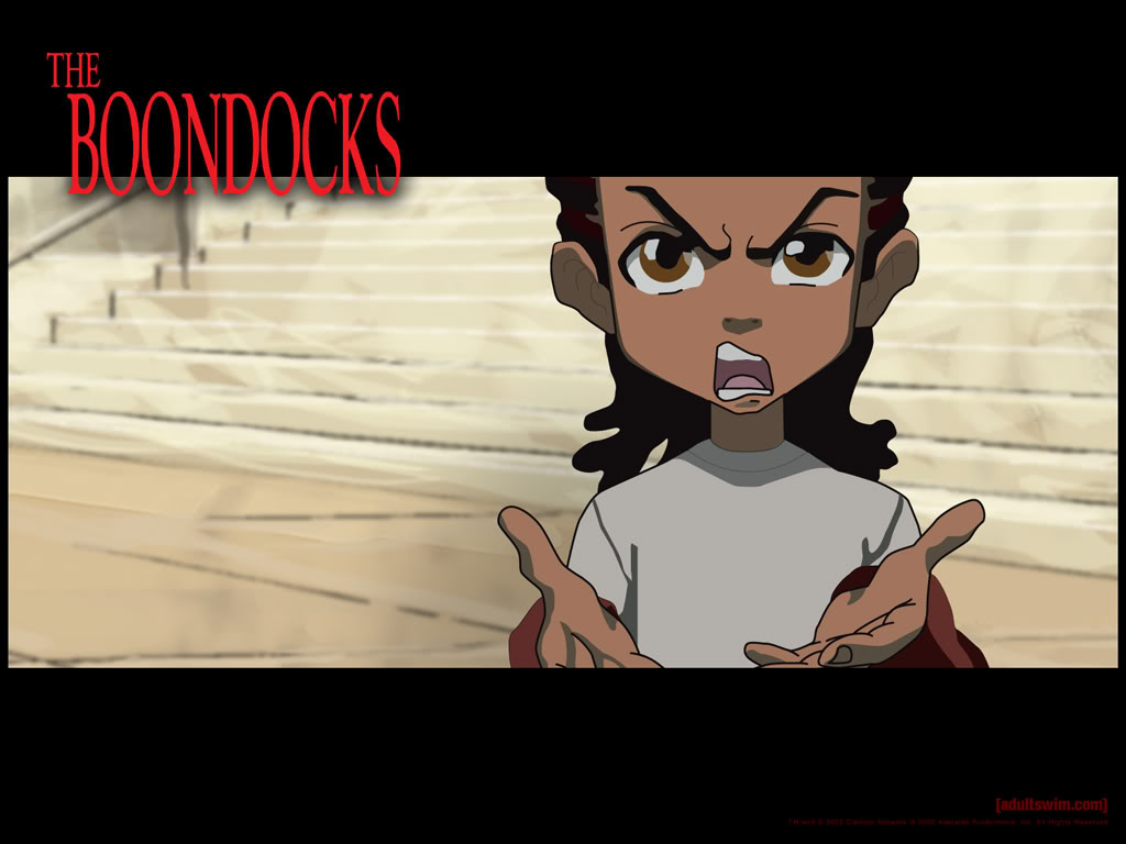 Boondocks Wallpaper Boondocks Desktop Background 1024x768