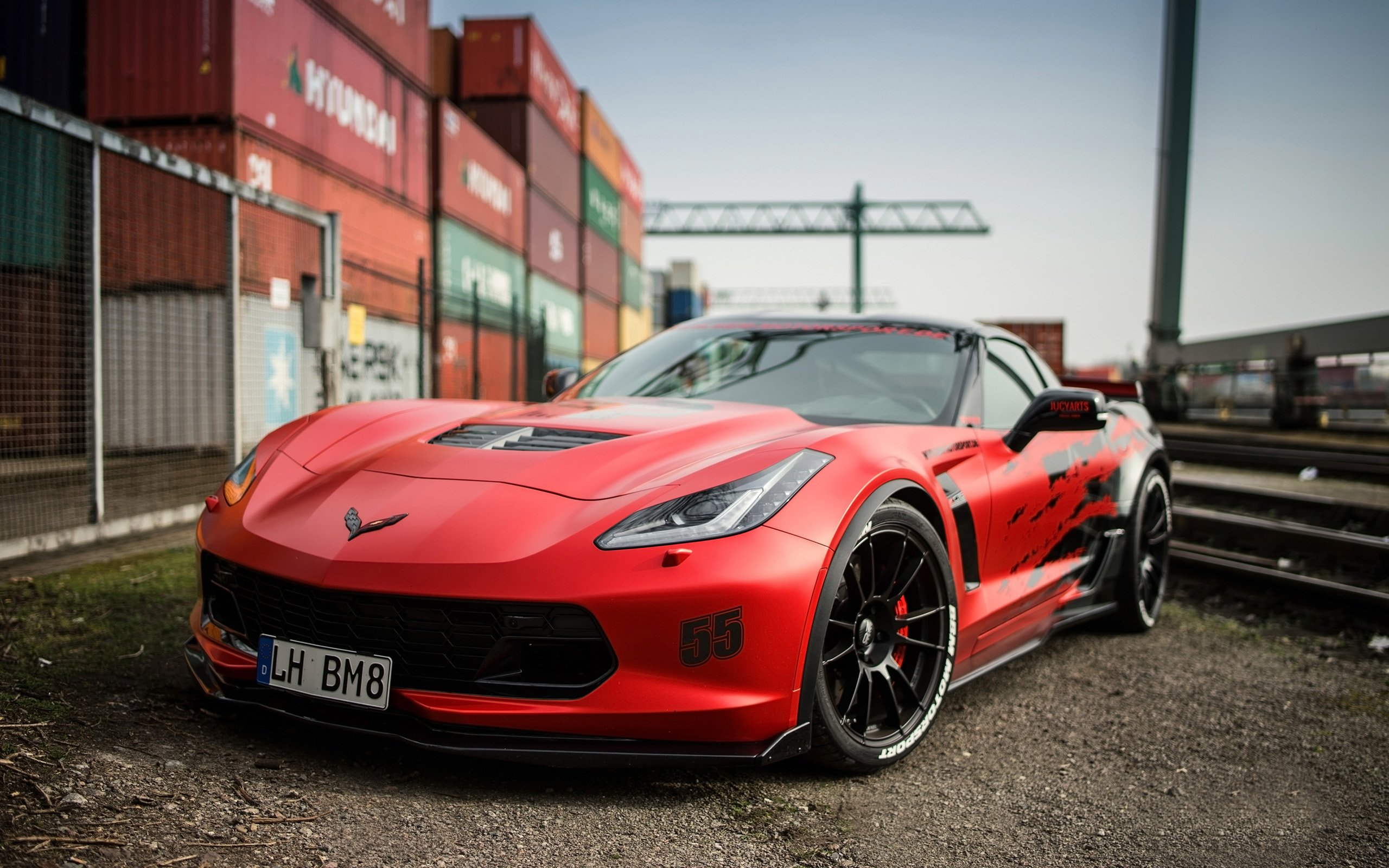 2016 BBM Motorsport Chevrolet Corvette C7 Z06 Wallpaper HD Car 2560x1600