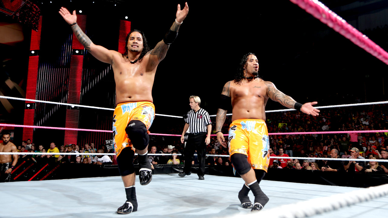 The Usos Face Paint They had to battle the usos 1284x722