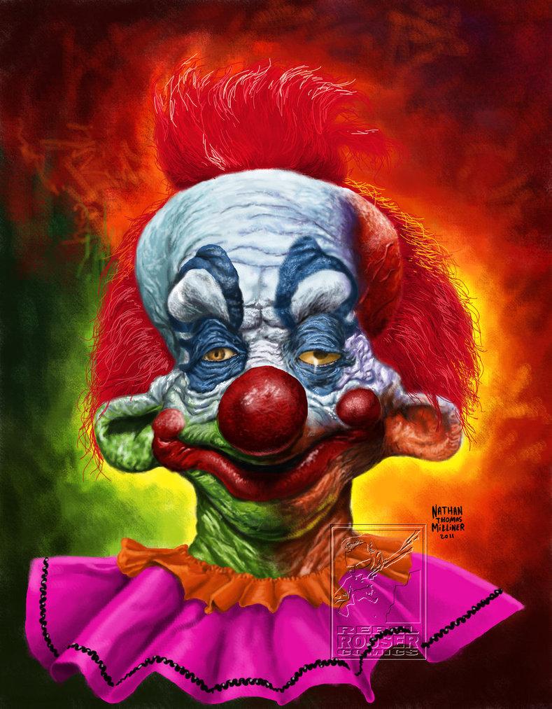Killer Clowns Wallpaper 789x1013