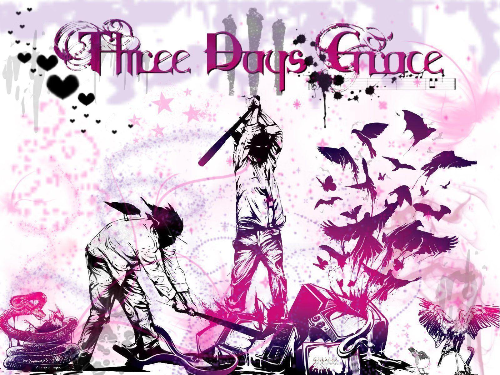 Three Days Grace Wallpapers   Top Three Days Grace 1600x1200