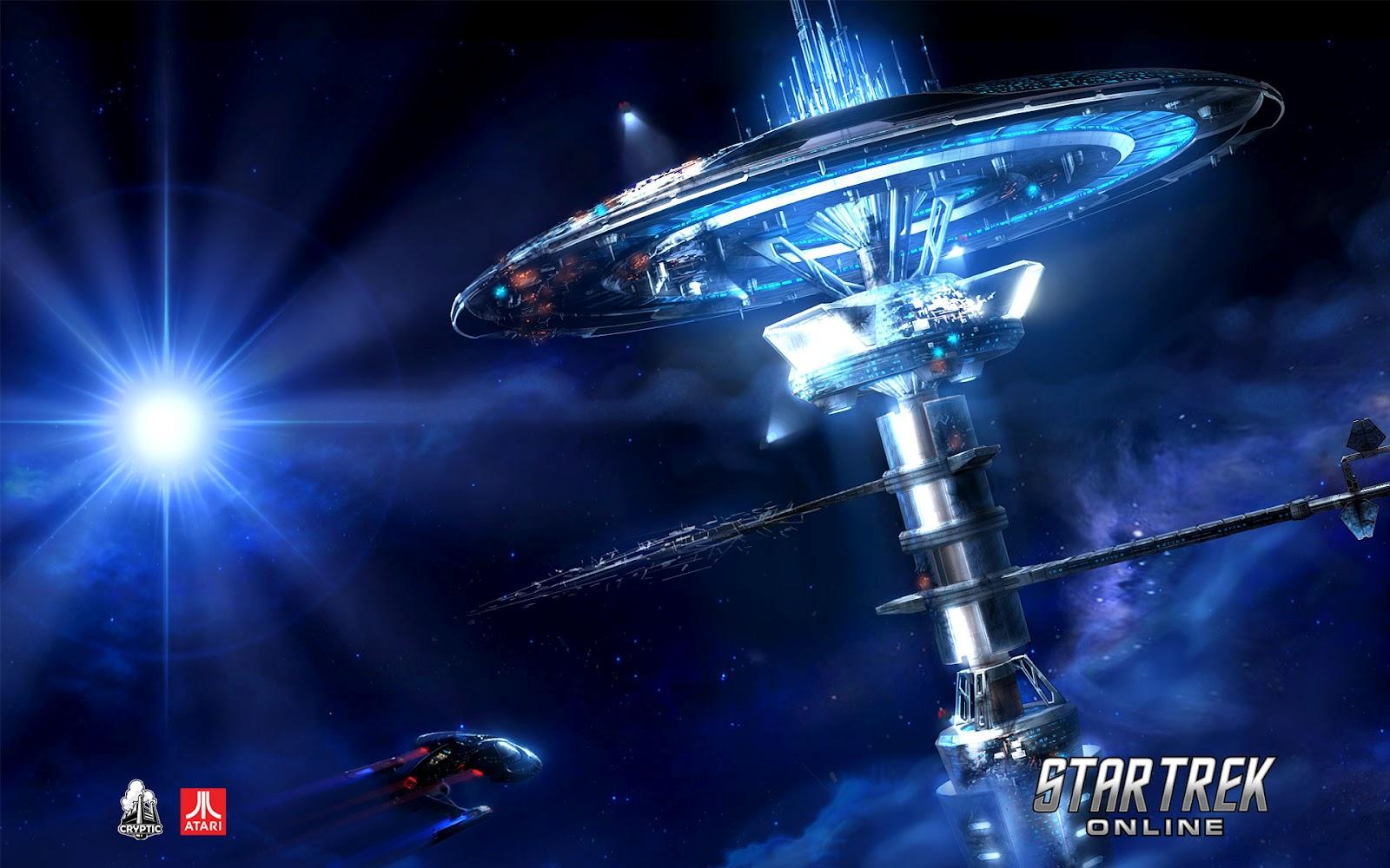 Wallpaper HD Star Trek online 1600x1000