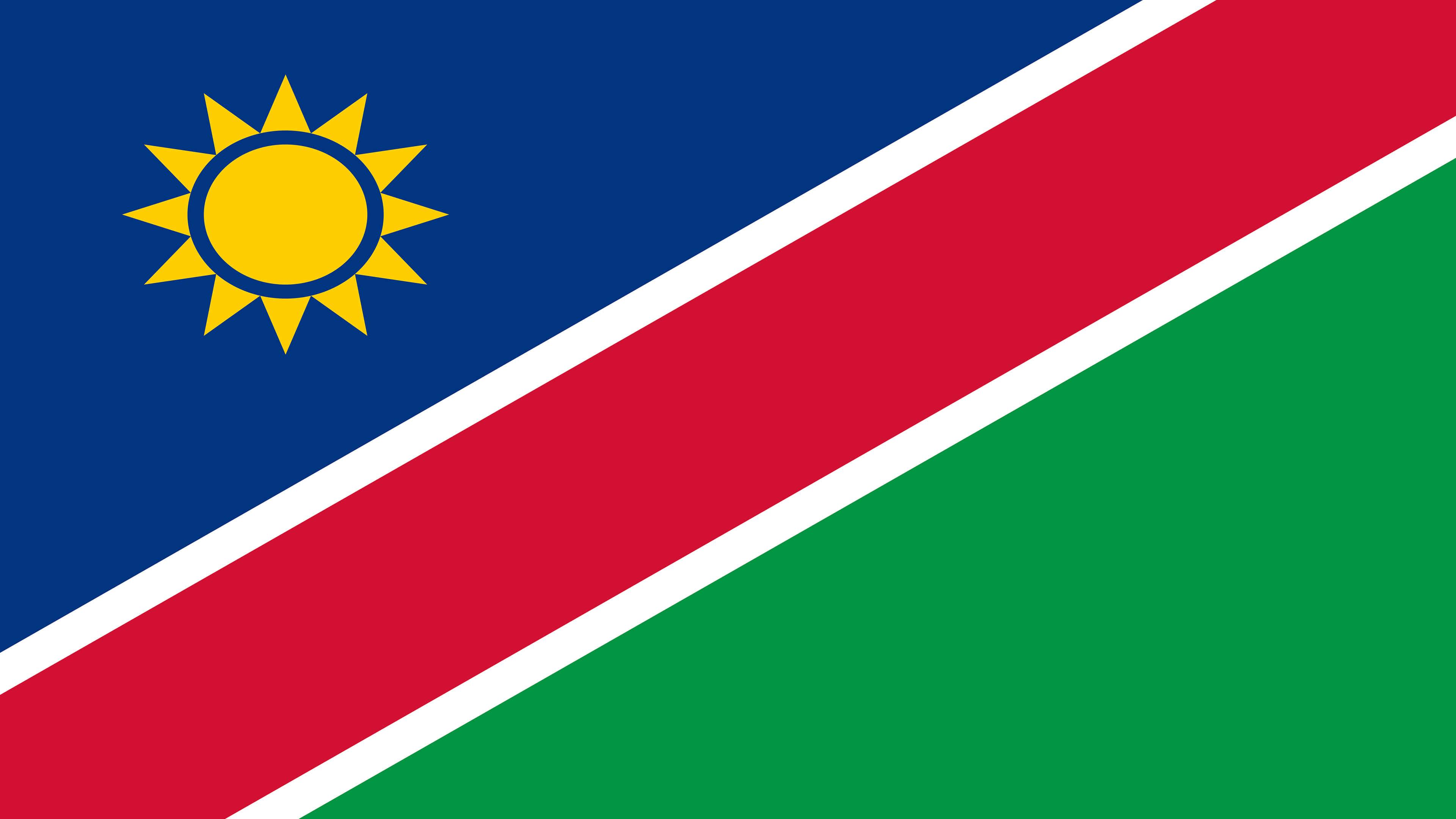 Namibia Flag UHD 4K Wallpaper Pixelz 3840x2160