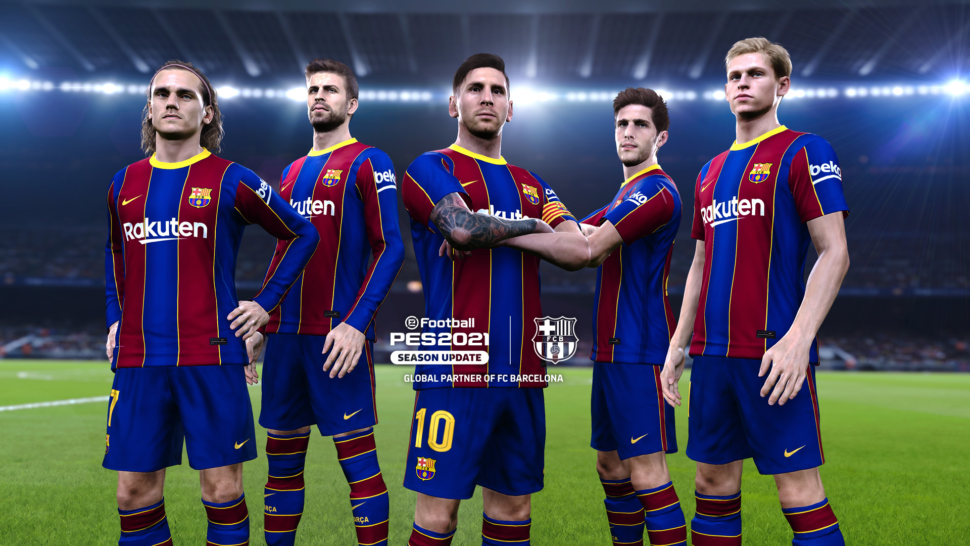 New eFootball PES 2021 FC Barcelona Edition now available 1920x1080