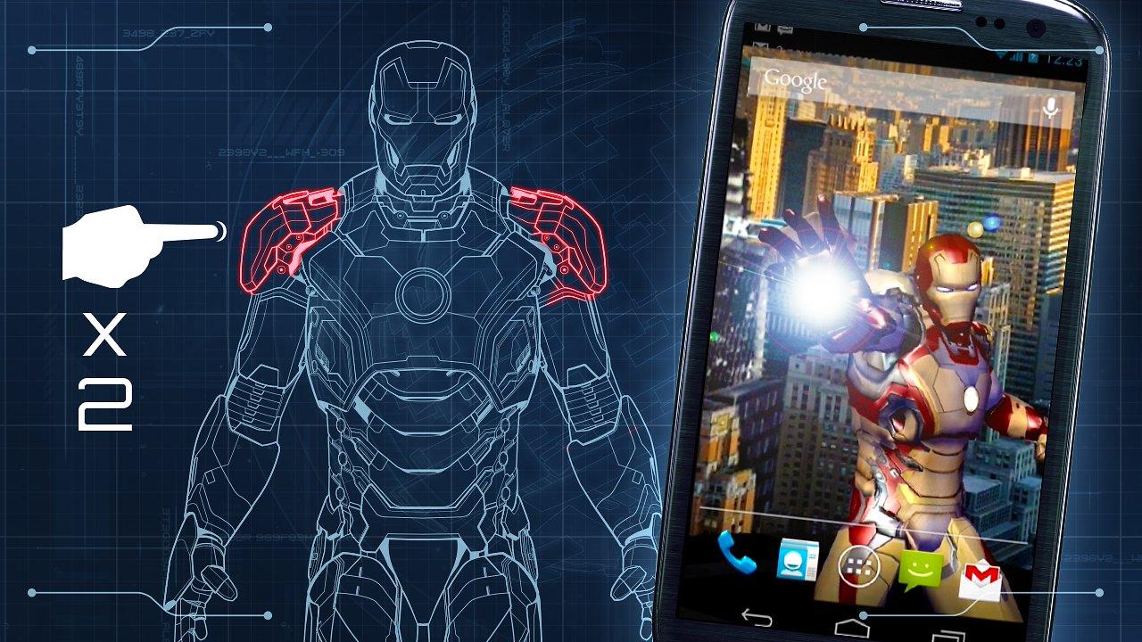 Iron Man 3 Live Wallpaper   Aplicaciones y Anlisis Android 1280x720