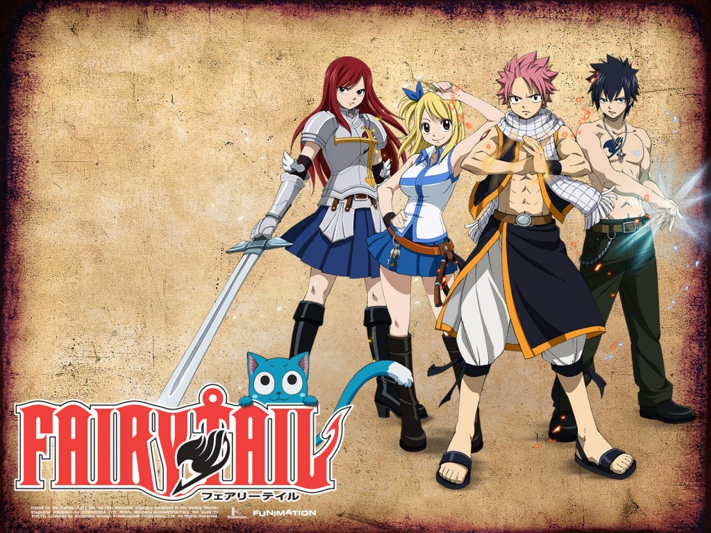 Fairy Tail Wallpapers   Cartoon Wallpapers 1024x768