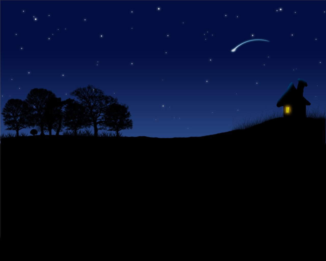 night sky wallpaper by nesh82 1280x1024