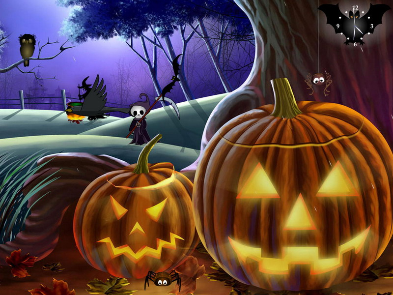 Halloween Screensaver   Halloween Again   FullScreensaverscom 800x600