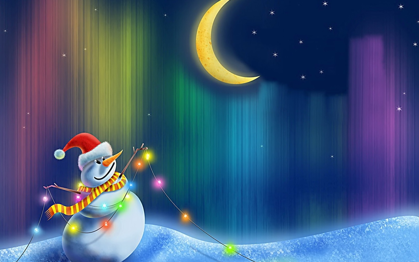 Christmas Wallpapers Animated Hd Wallpapers Download 1680x1050