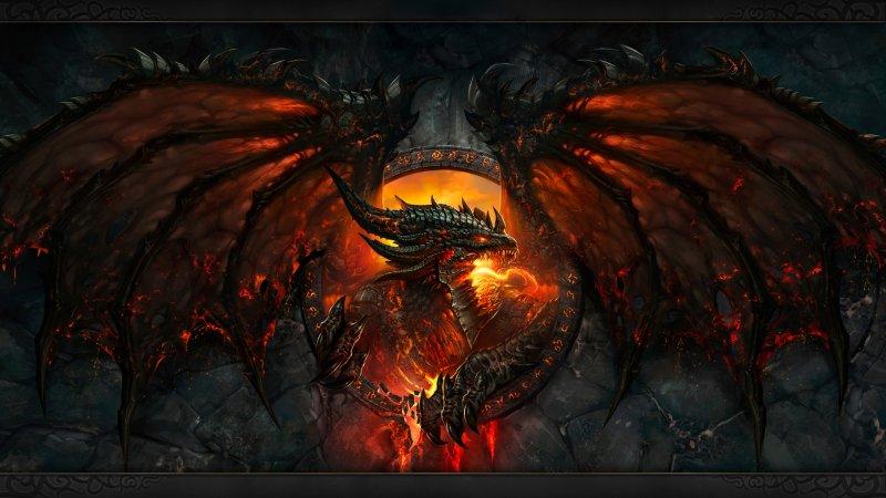 black dragon madness world of warcraft cataclysm wallpaper wallpaper 800x450
