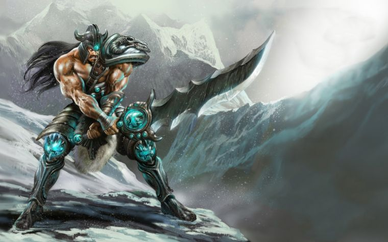 Tryndamere The Barbarian King Wallpaper 760x475