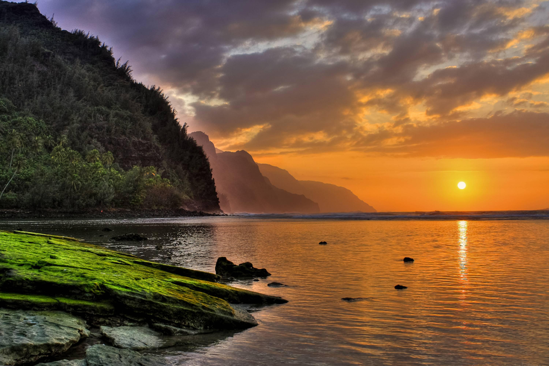 Hawaii Sunset Wallpaper 3000x2000