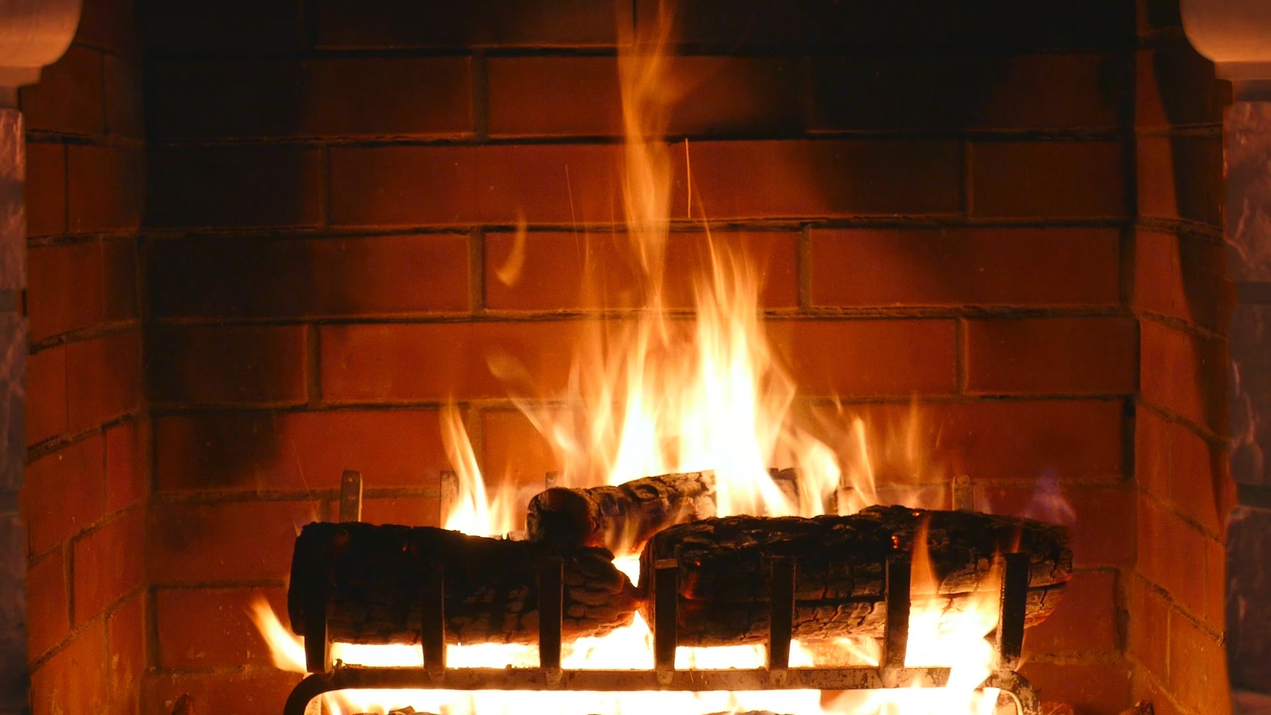 Fireplace Background Download 2620x1474