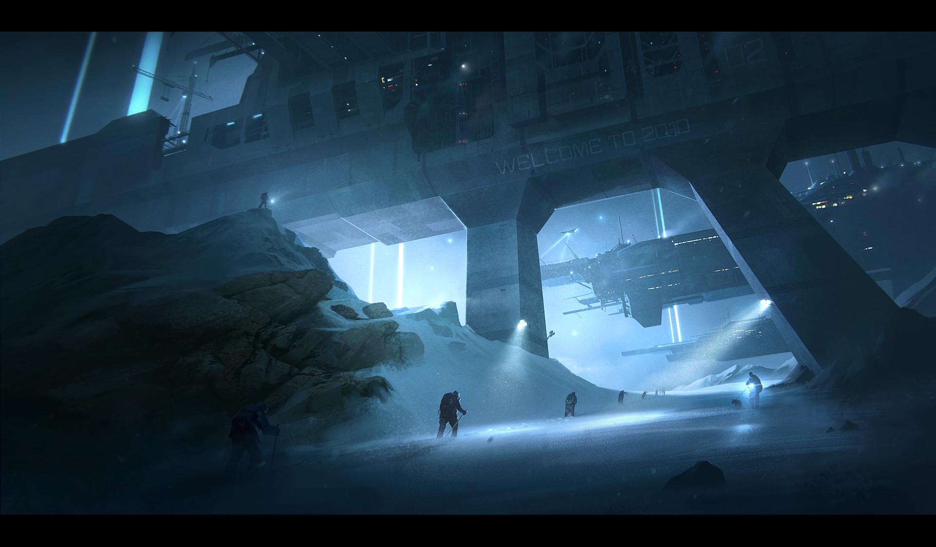 Alpha Coders Wallpaper Abyss Sci Fi Landscape 113130