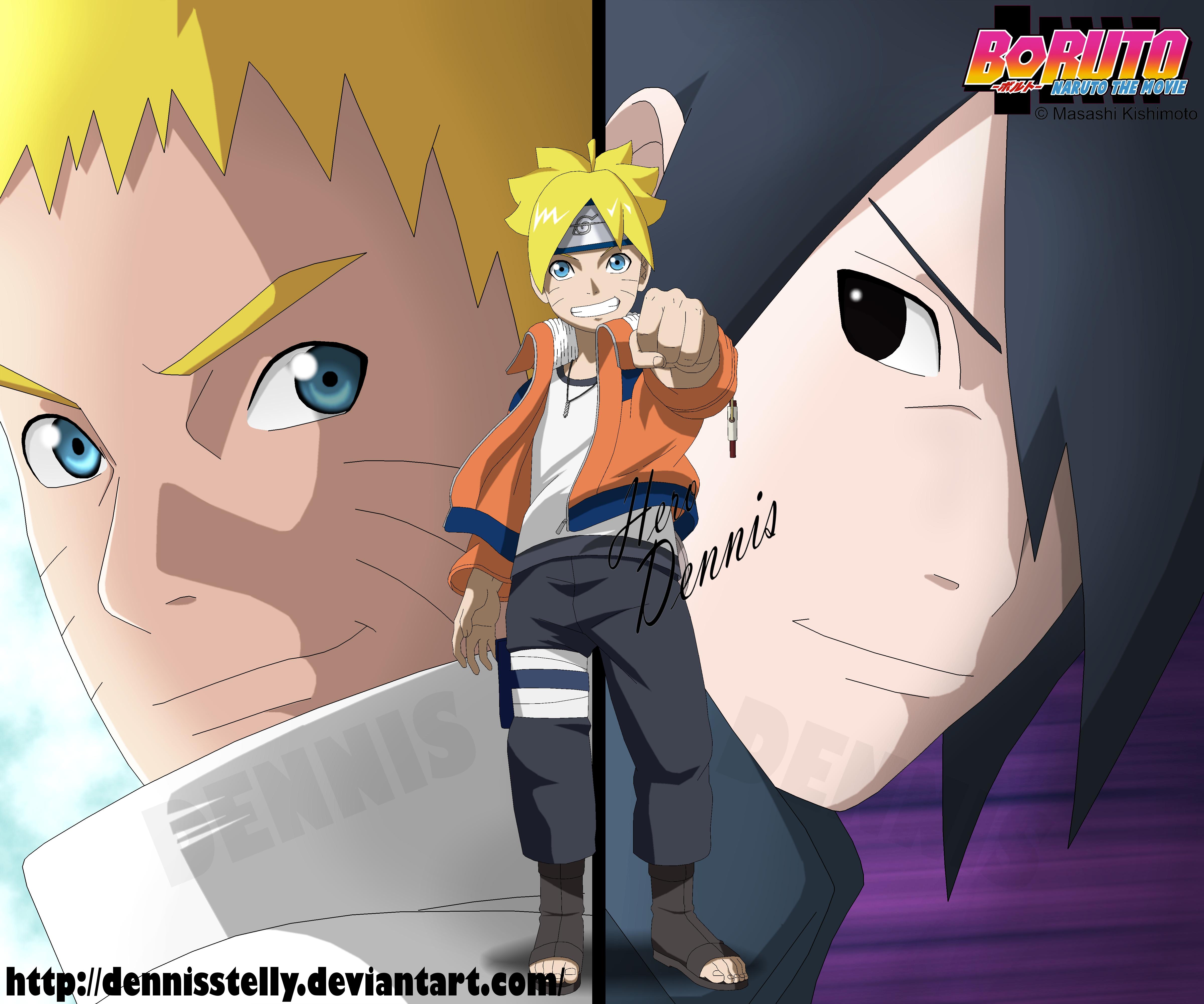 Boruto Naruto: Boruto Naruto The Movie Wallpaper